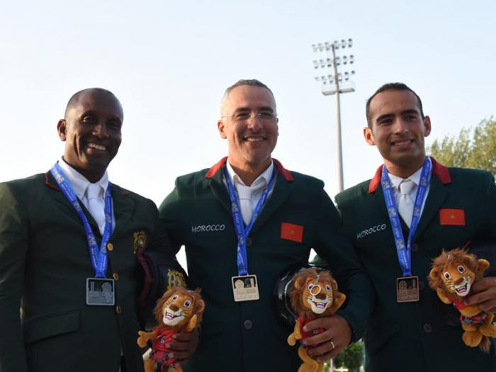 Jeux Africains : des  cavaliers marocains en or !
