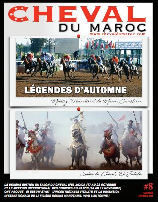 Magazine : Cheval Du Maroc Numéro 8