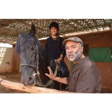 Mohamed Mourabiti, un grand artiste amoureux du cheval !